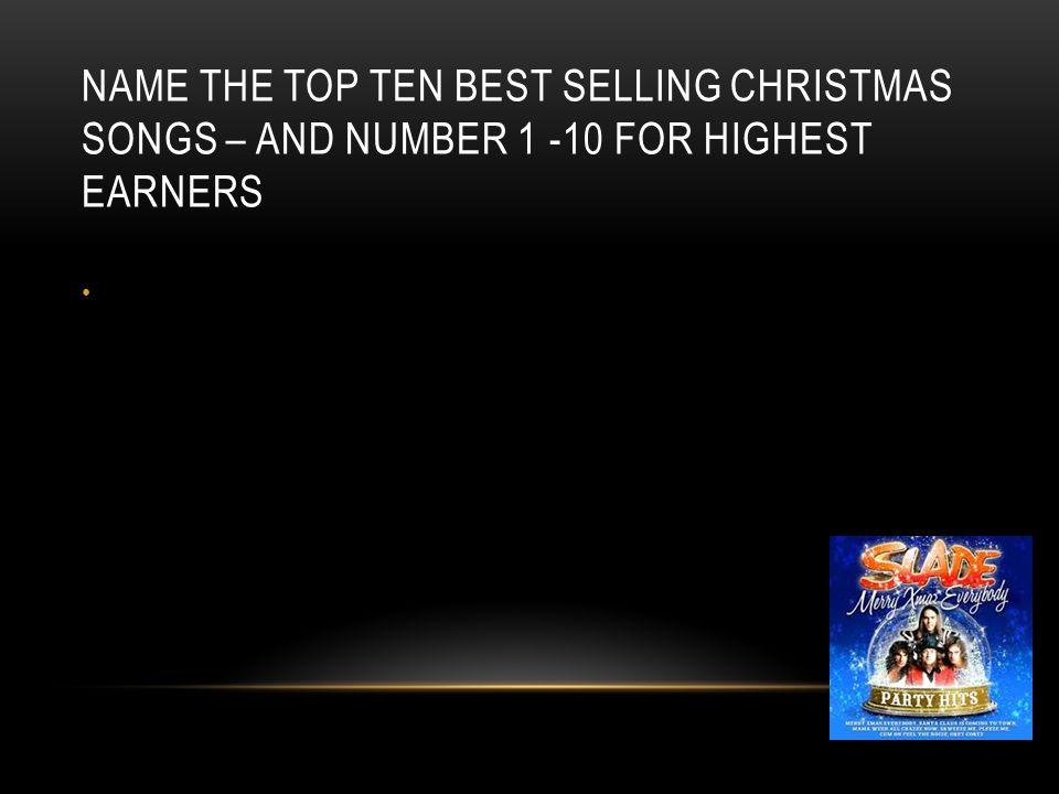 2 name the top ten best selling christmas songs - Best Selling Christmas Songs