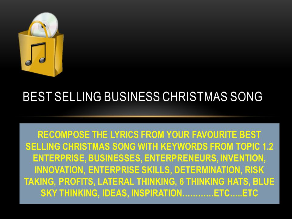 5 best selling business christmas song - Best Selling Christmas Song