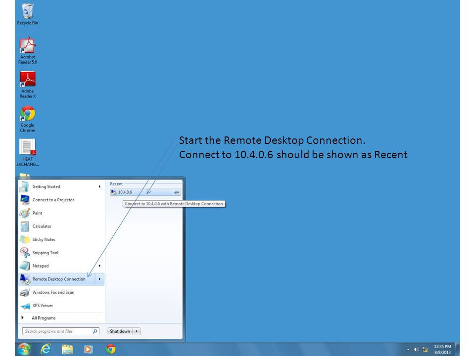 Connect To Deltav Through A Remote Desktop This Procedure Is Used To