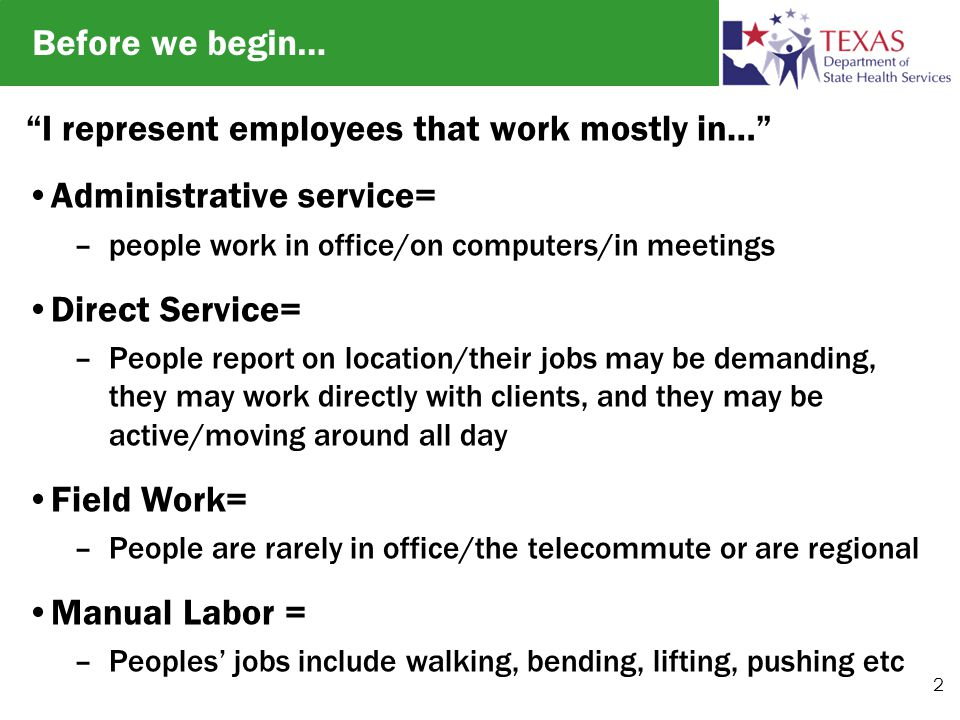 Increasing Physical Activity In The Workplace Cari Browning Ctrs