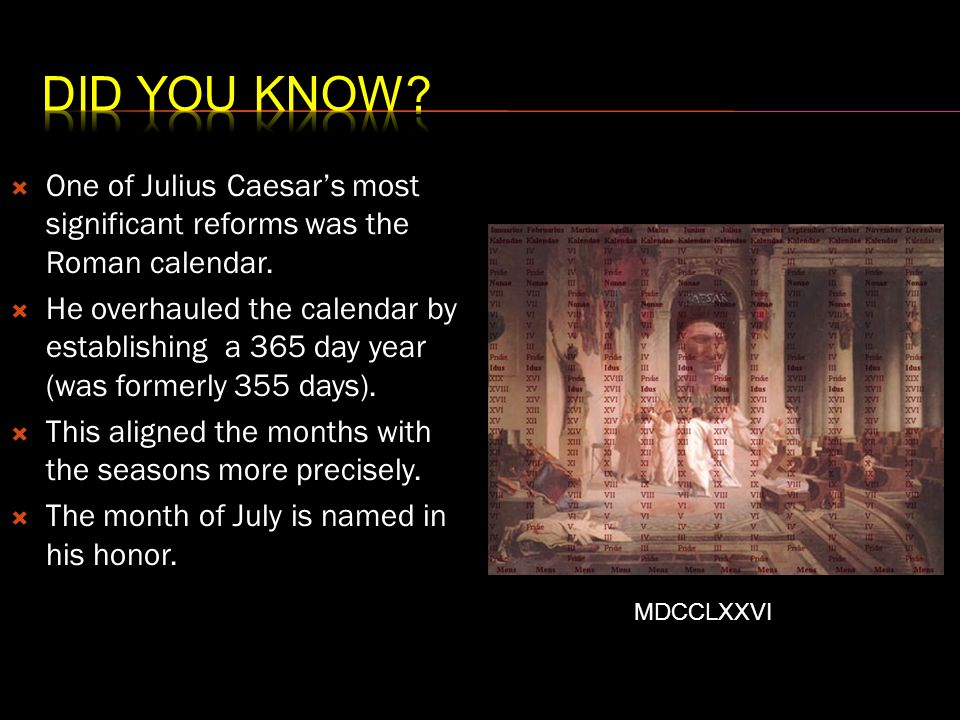 What do you know about the real Julius Caesar?  You will