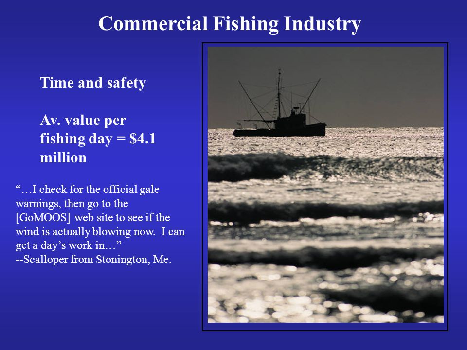 Commercial Fishing Industry Time and safety Av.
