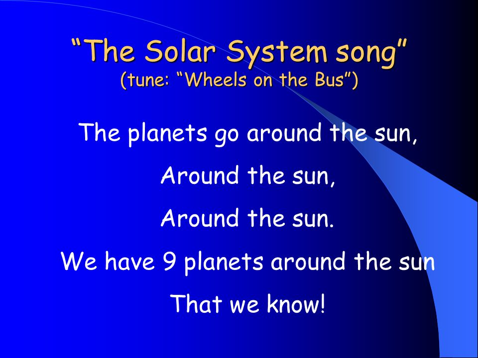 Soaring in the Solar System Peggy Elder 2 nd Grade Science