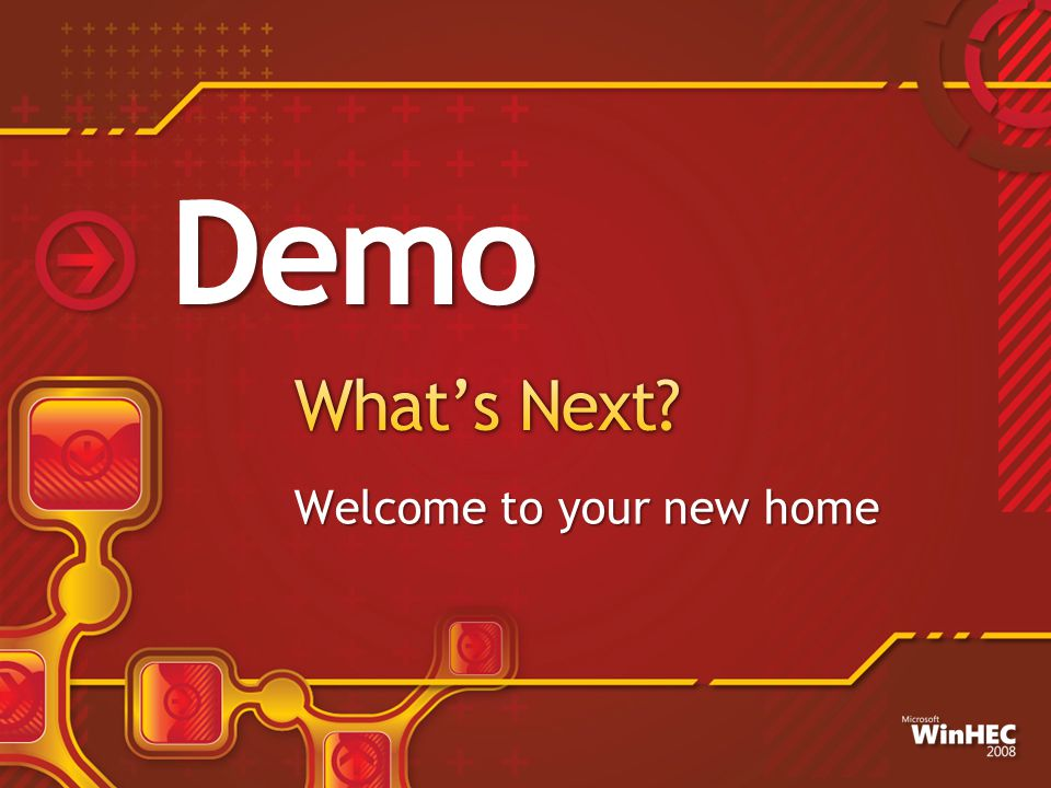 Welcome to your new home Demo