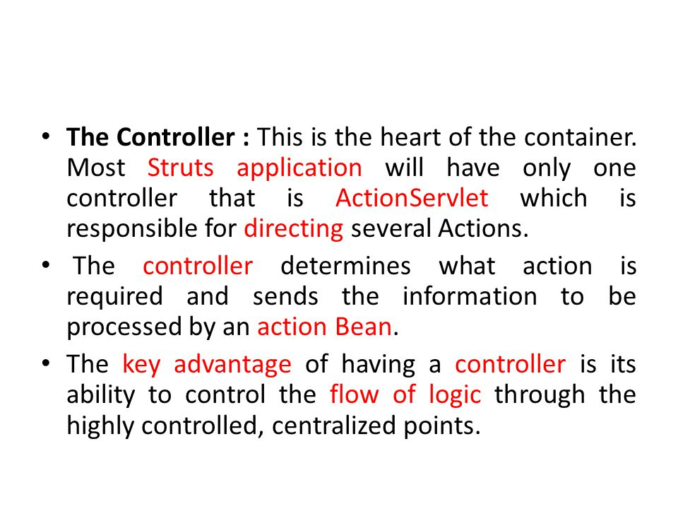 The Controller : This is the heart of the container.