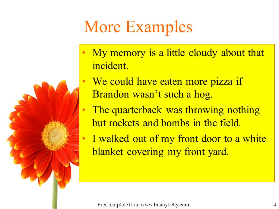 Poetic Devices Metaphors Free Template From What Is A Metaphor A