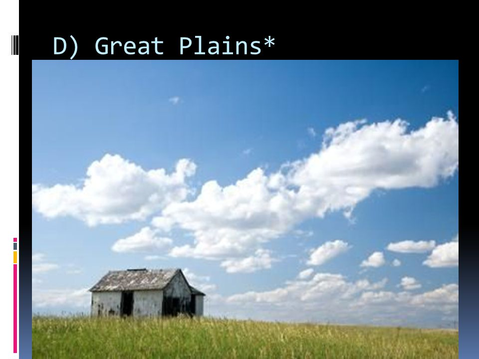 D) Great Plains*