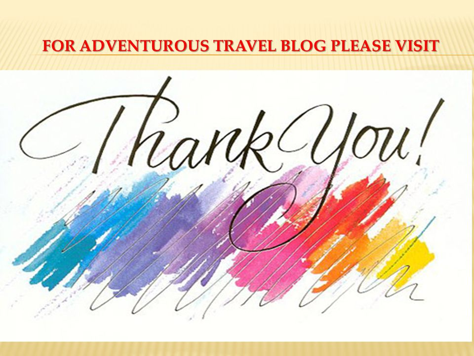 FOR ADVENTUROUS TRAVEL BLOG PLEASE VISIT