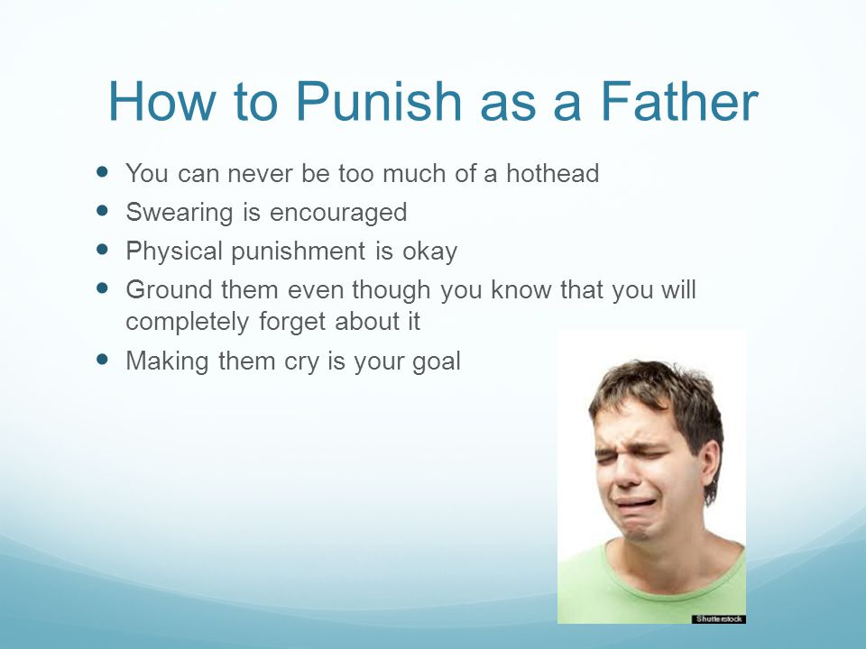 a description of whether physical punishment is effective or not Positive punishment at work may be effective in some cases, but like positive punishment for children, it should be used sparingly, appropriately, and in conjunction with reinforcement techniques common criticisms.