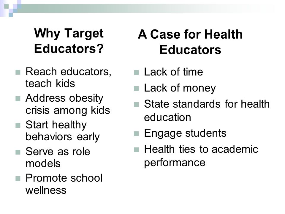 Why Target Educators.