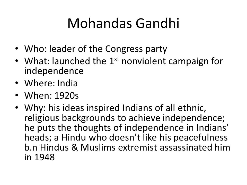 indian national congress background