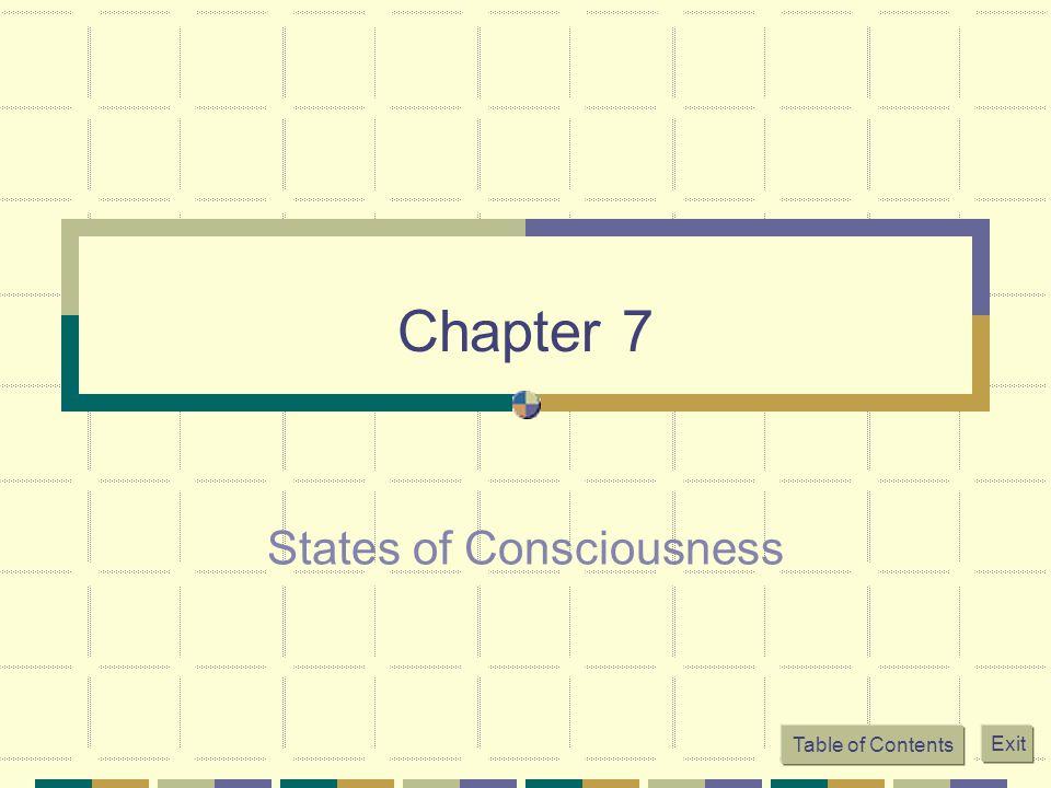 7 states of consciousness