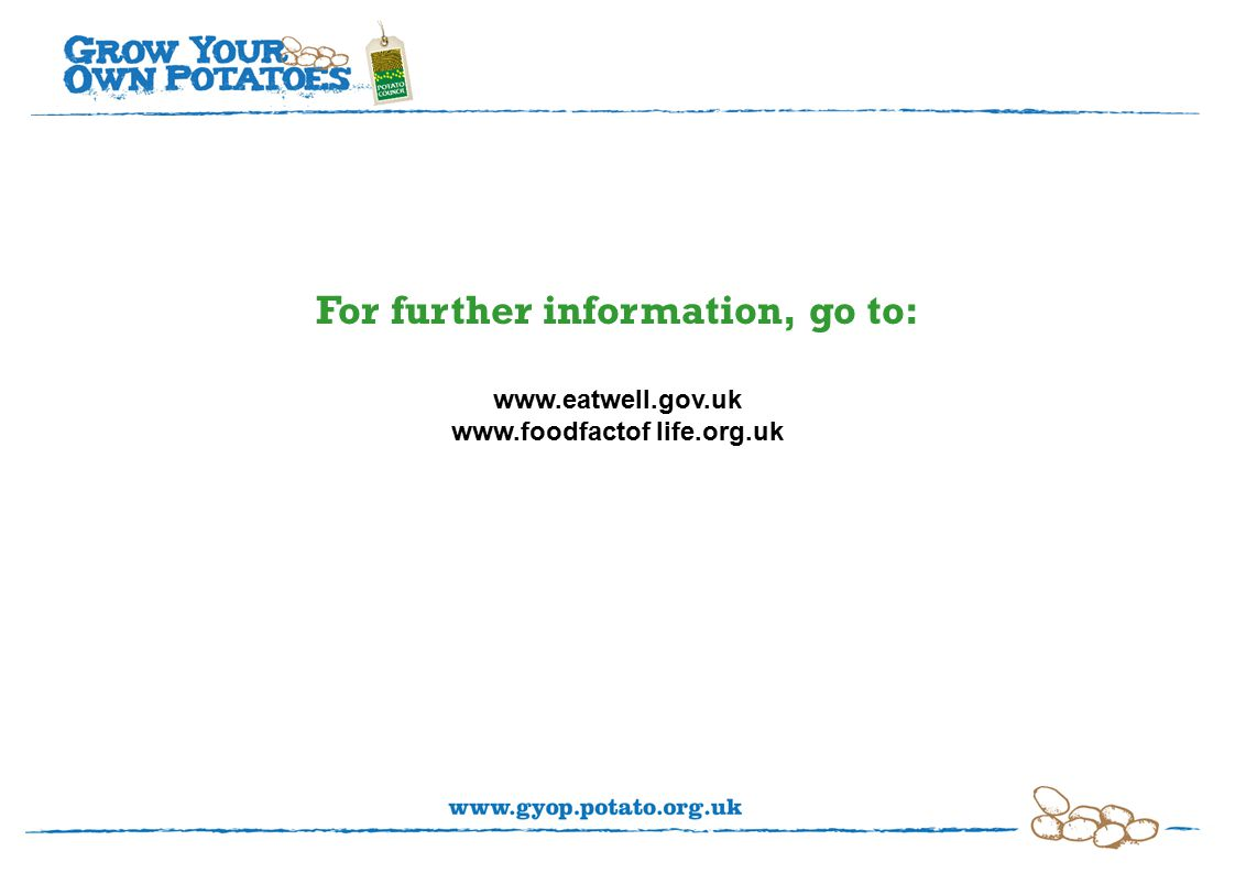 For further information, go to:     life.org.uk