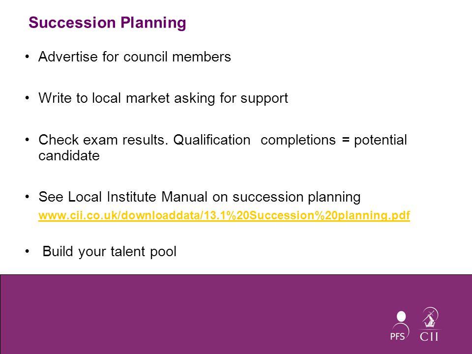 Slide 1 | David Irvine CII Area Marketing Manager Local Institute