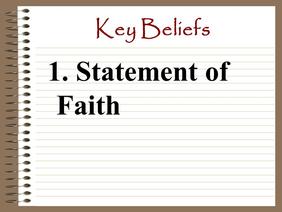 Key Beliefs The 5 Pillars of Faith: are 5 basic duties that all followers of Islam must follow