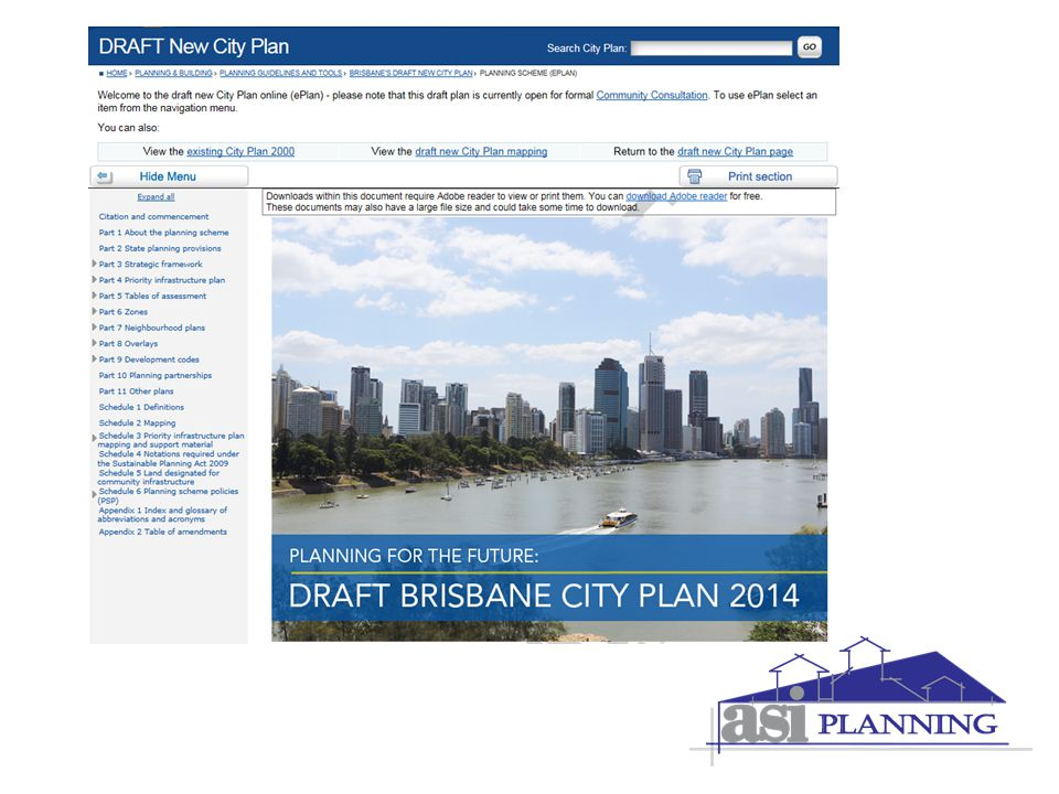 Brisbane City Council – New City Plan 2014 Craig Christie  - ppt