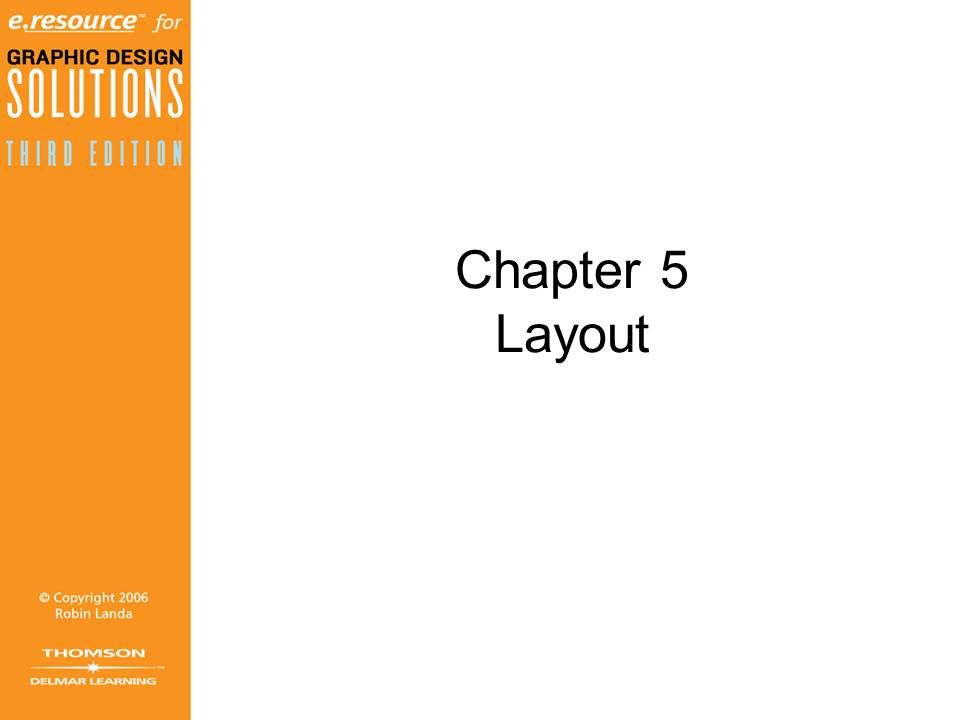 Chapter 5 Layout