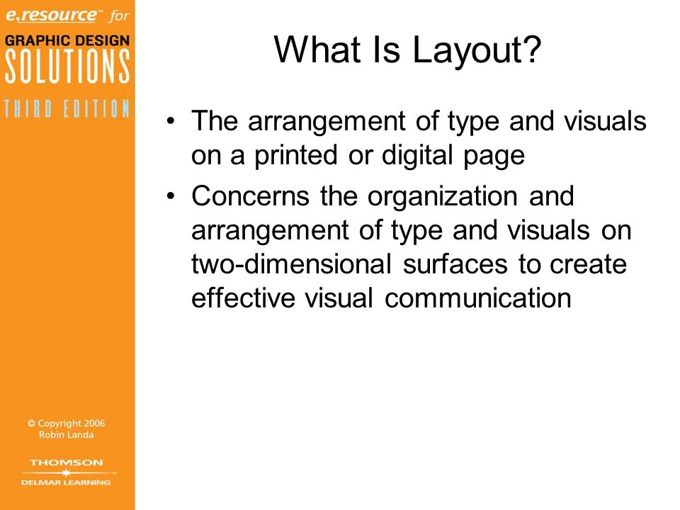 What Is Layout.