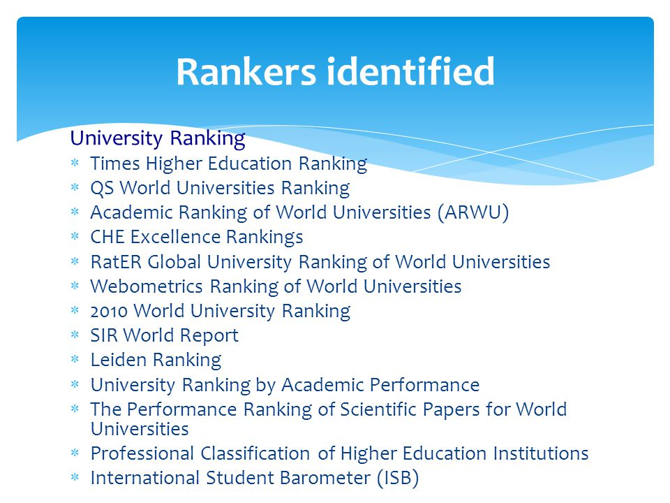 Rating and Ranking: Pros and Cons Dr  Mohsen Elmahdy Said Professor