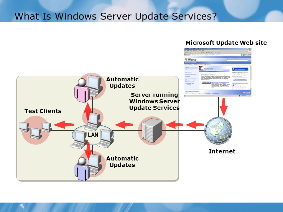 What Is Windows Server Update Services.