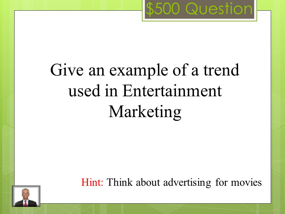 $400 Answer Marketing Concept
