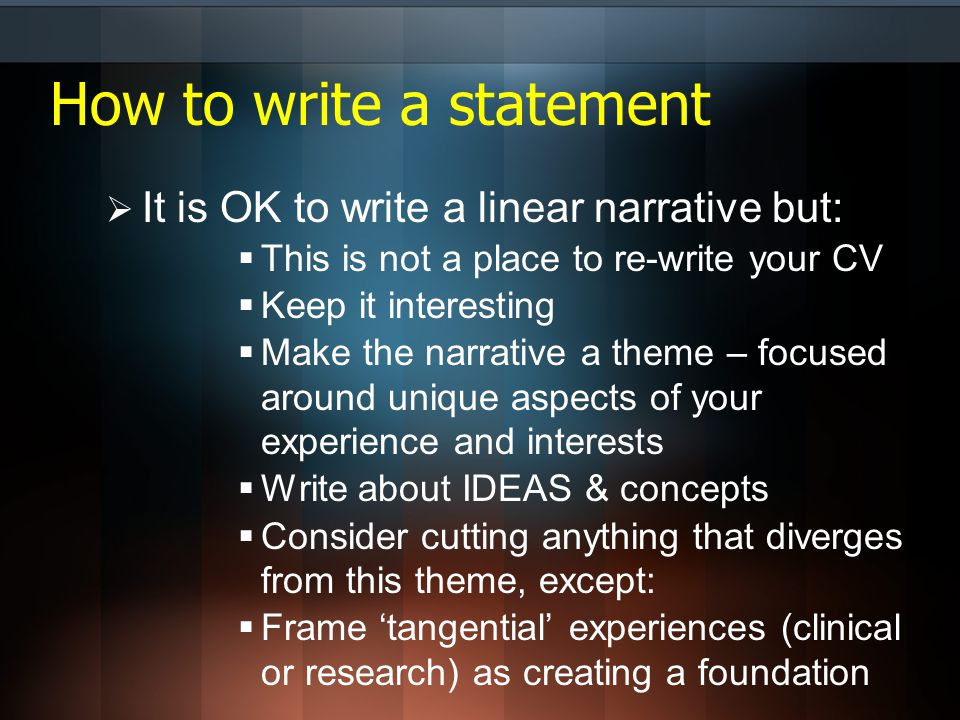 interesting concepts to write about