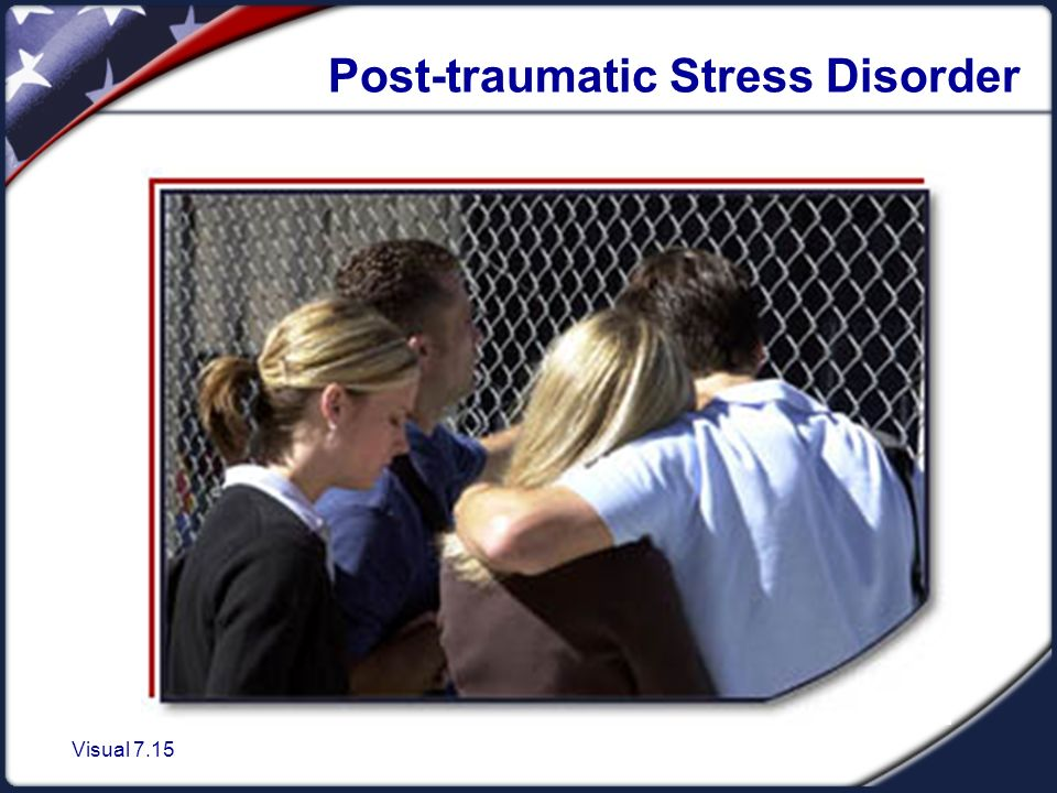 Visual 7.15 Post-traumatic Stress Disorder