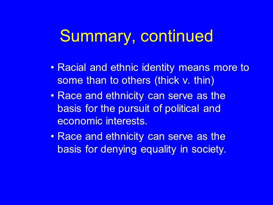 is race biological or social