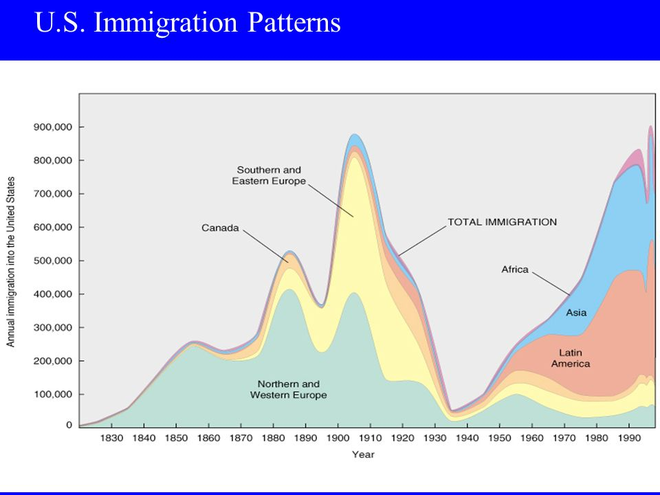 U.S. Immigration Patterns