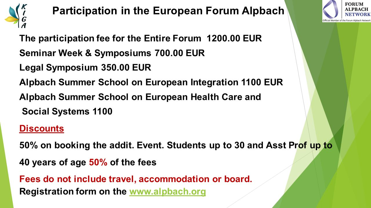 Kyiv Initiative Group Alpbach is your Gateway to the