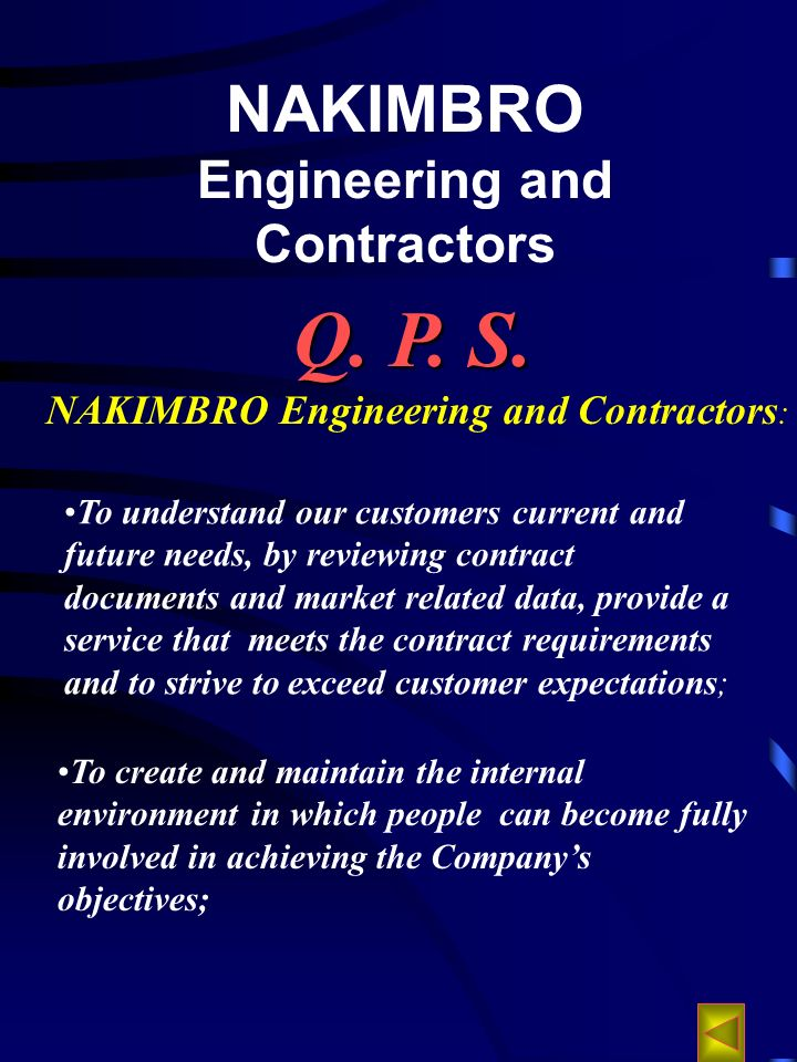 NAKIMBRO Engineering and Contractors Q. P. S.