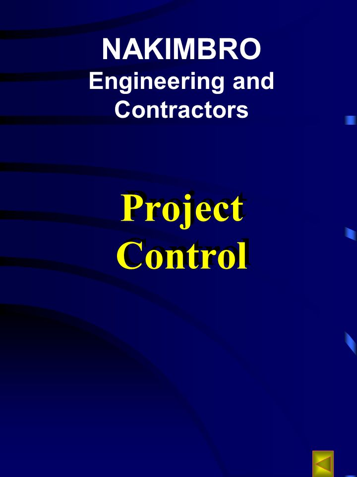 NAKIMBRO Engineering and Contractors Project Control