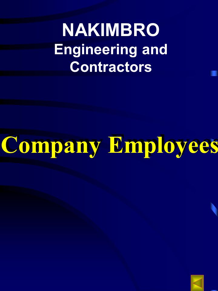 NAKIMBRO Engineering and Contractors Company Employees