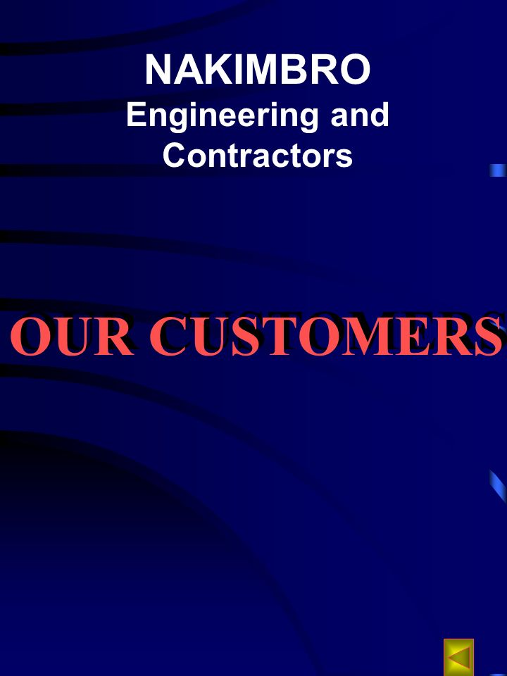 NAKIMBRO Engineering and Contractors OUR CUSTOMERS