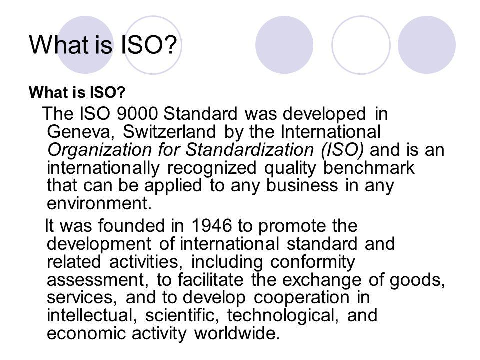 Lesson 3 International Standard Organization Iso Ppt