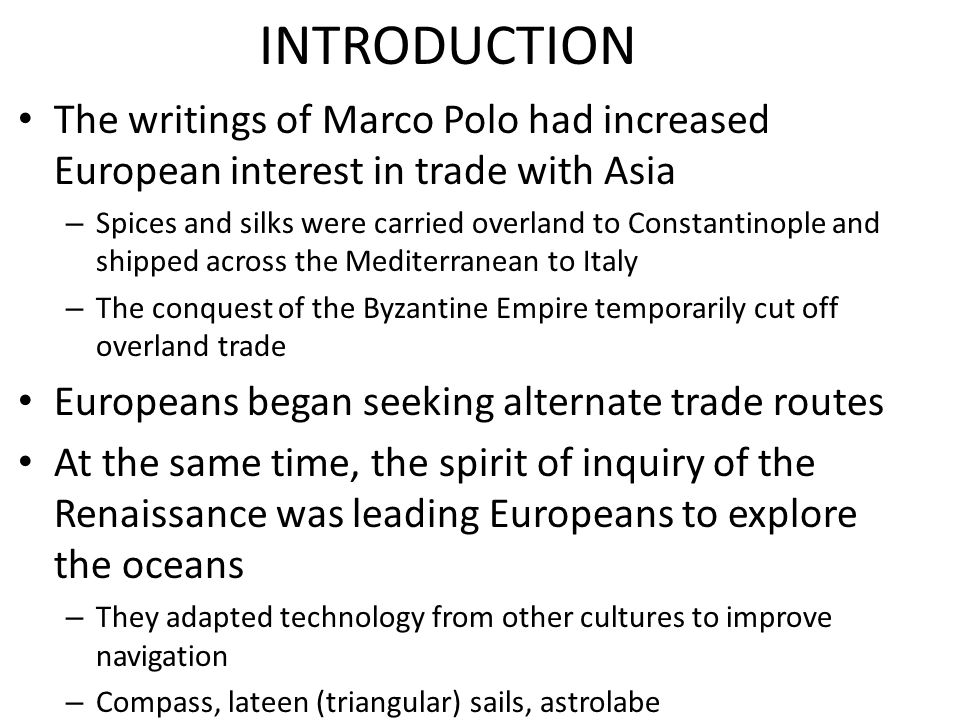 marco polo introduction