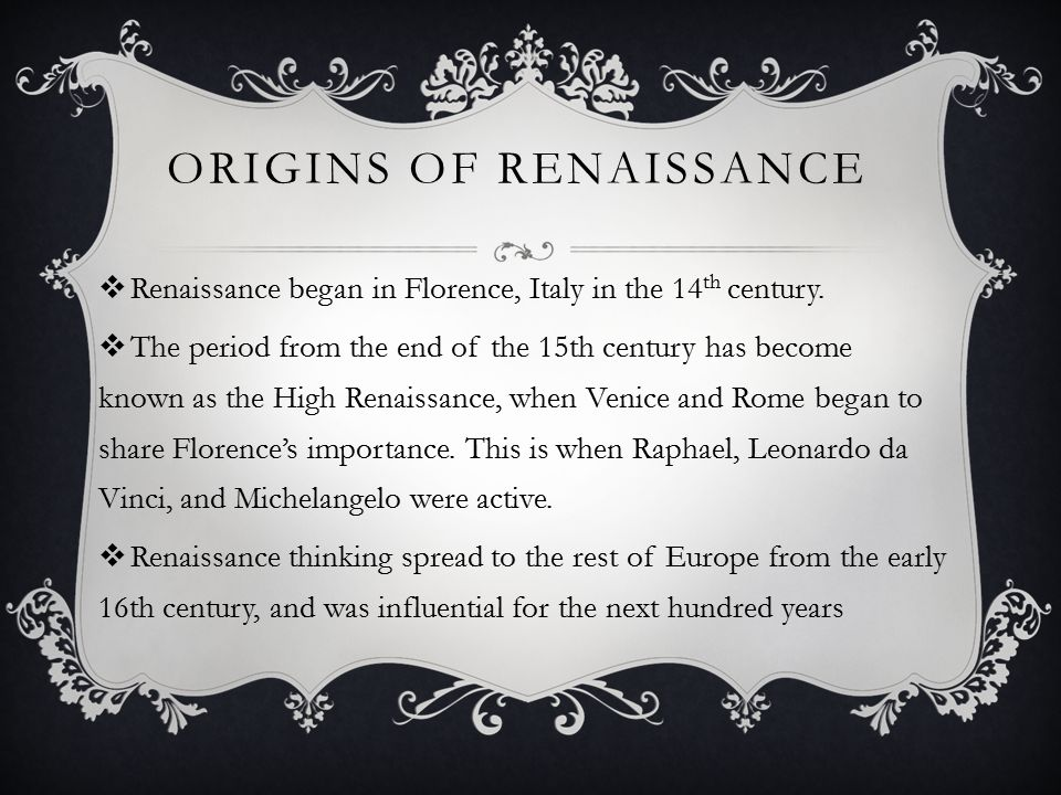 the influence of the english renaissance Renaissance: impact on english literature renaissance is a french word which means rebirth, reawakening or revival in literature the term renaissance is used to denote the revival of ancient classical literature and culture and re-awakening of human mind, after the long sleep in the medieval ages, to the glory, wonders and beauty of man's earthly life and nature.