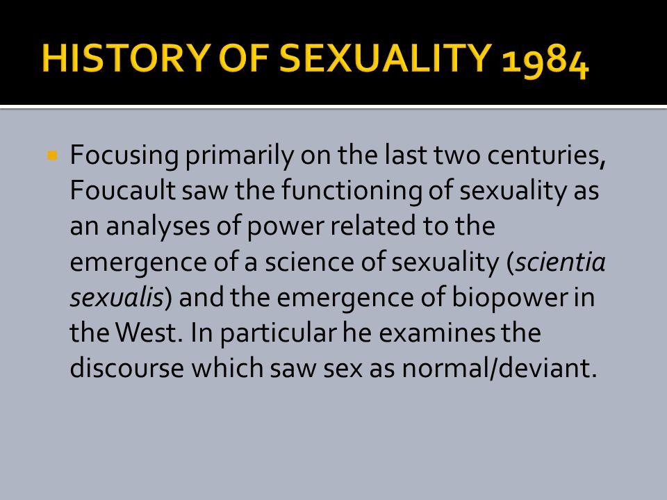Scientia sexualis definition