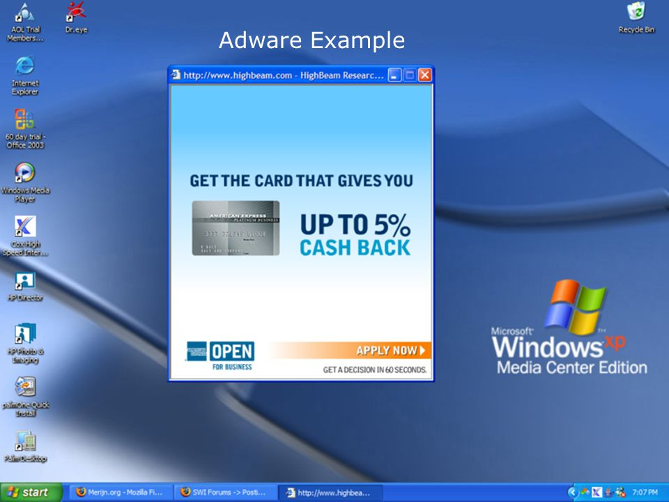 Adware Example