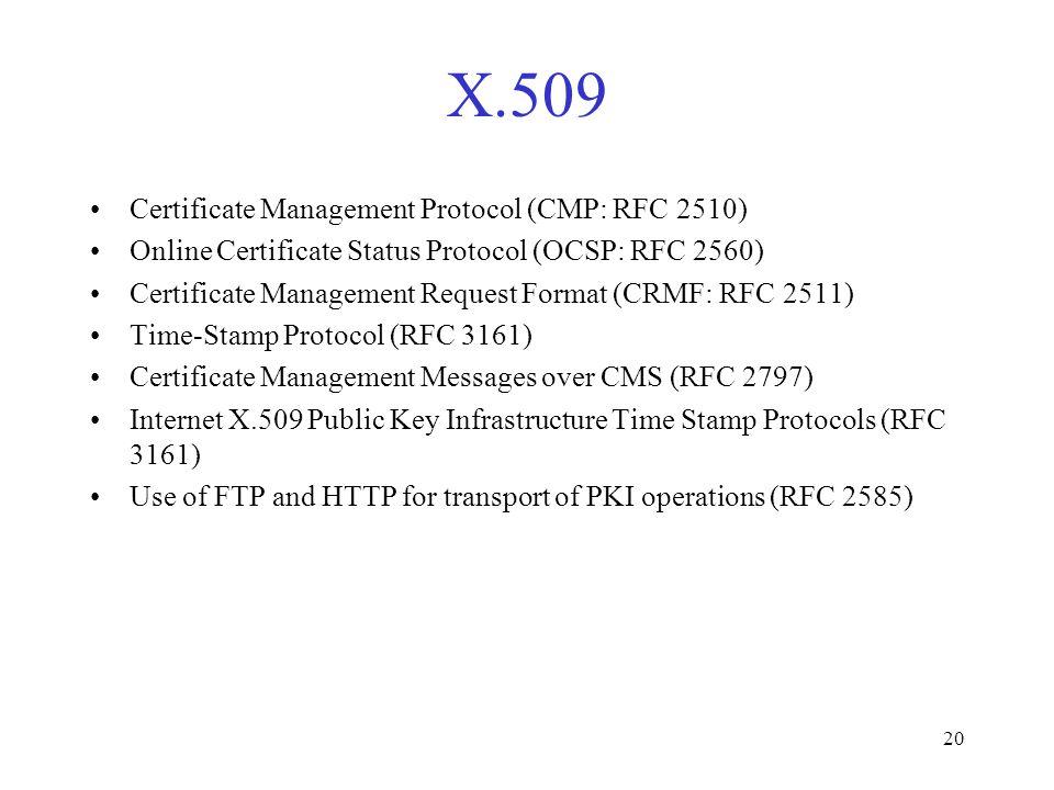 1 Lecture 11 Public Key Infrastructure (PKI) CIS CIS 5357