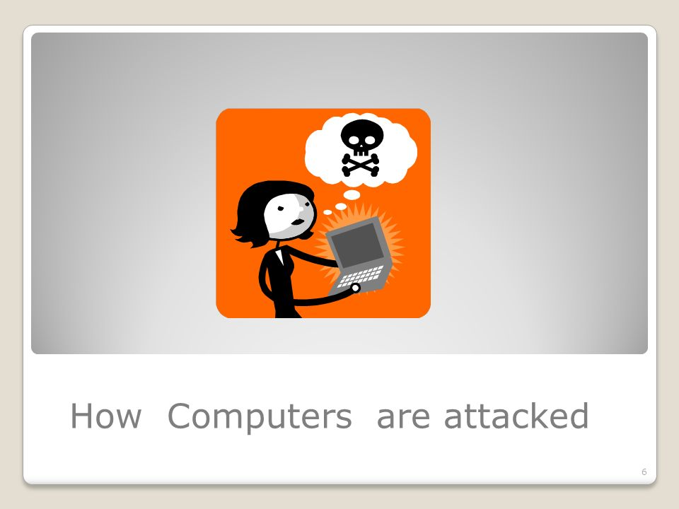 How Computers are attacked 6