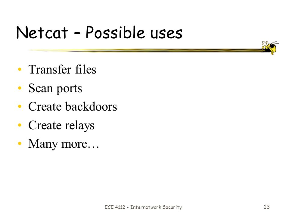 1 Backdoors and Trojans  ECE Internetwork Security 2 Agenda