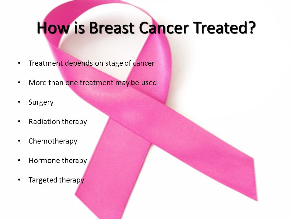 How is Breast Cancer Treated.