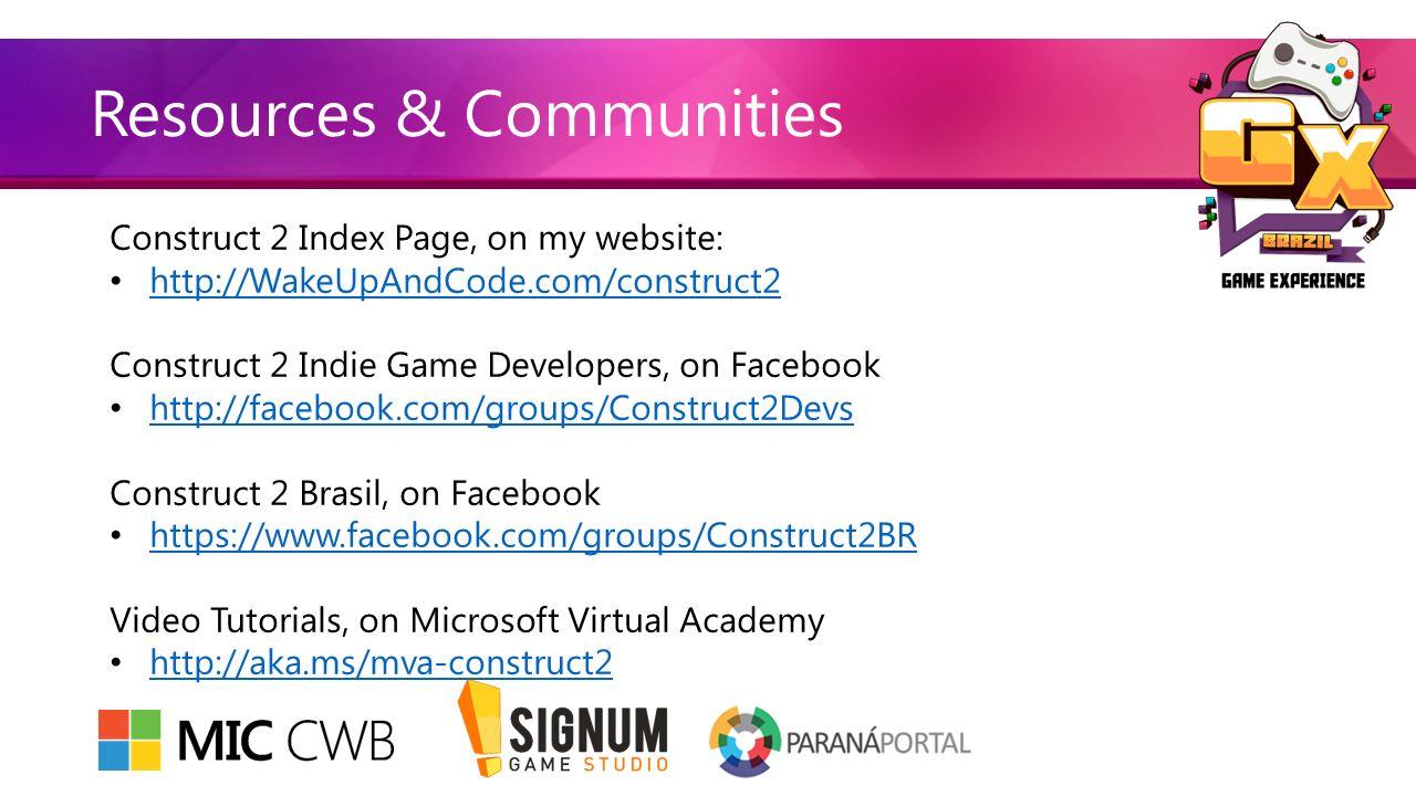 Construct 2 Game Development Shahed Chowdhuri Sr  Technical