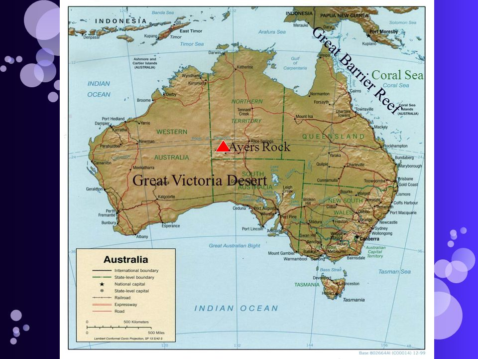 Map Of Australia Great Victoria Desert.Great Victoria Desert Ayers Rock Coral Sea Great Barrier Reef Ppt
