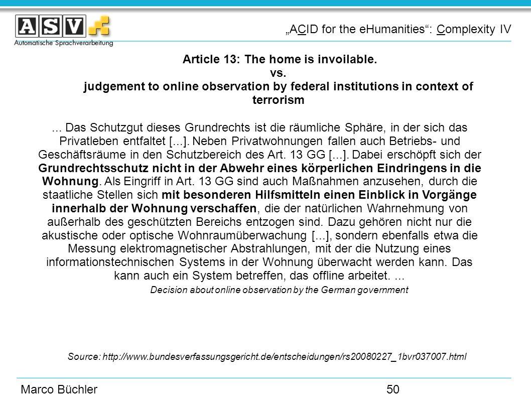 Bundesverfassungsgericht entscheidungen online dating