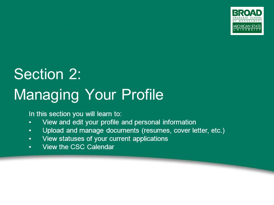 MBA Career Services eRecruiting Tutorial. 2 This power point ...