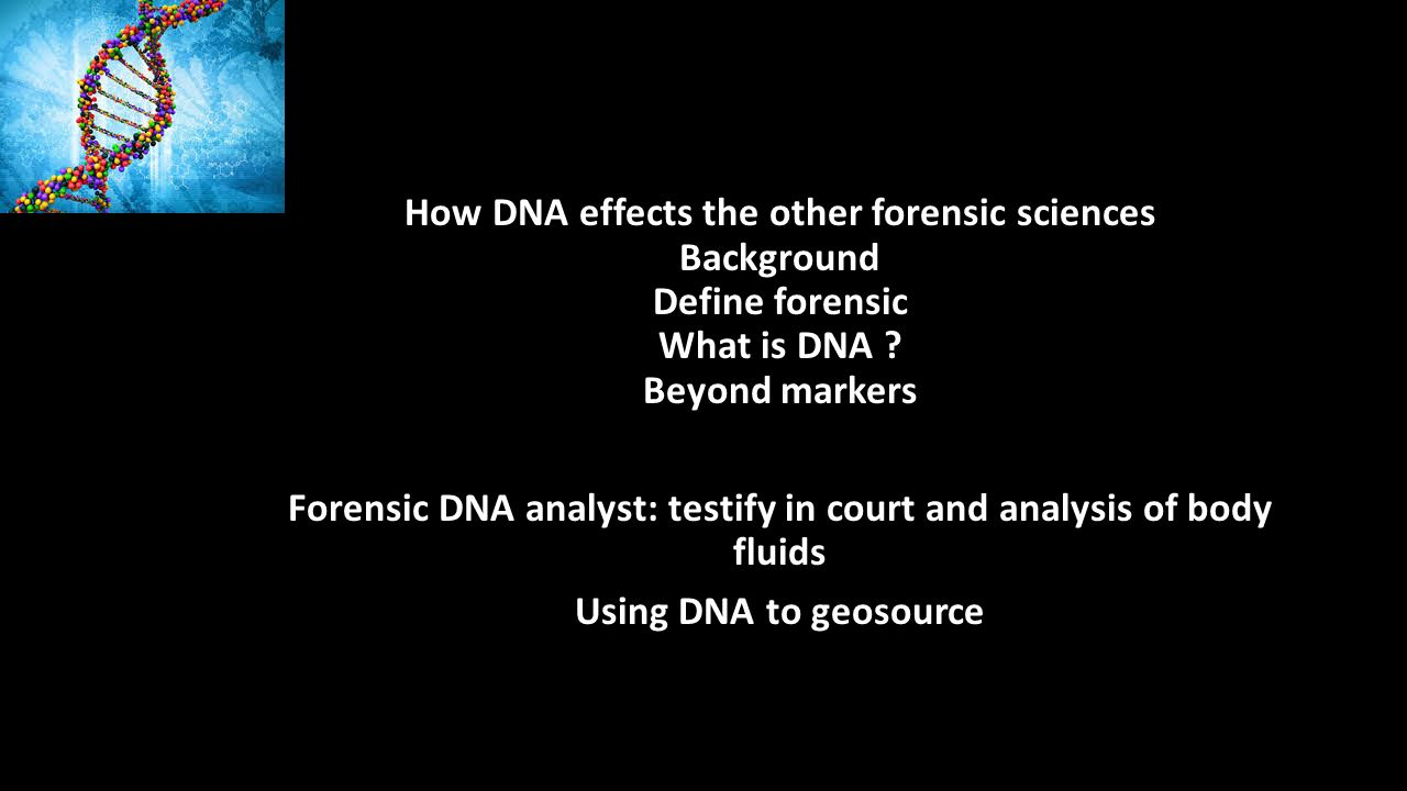 Supa Forensic Conference Speaker Michael Marciano Senior Scientist Professional Background The Dna Paradigm Forensic And National Security Sciences Ppt Download