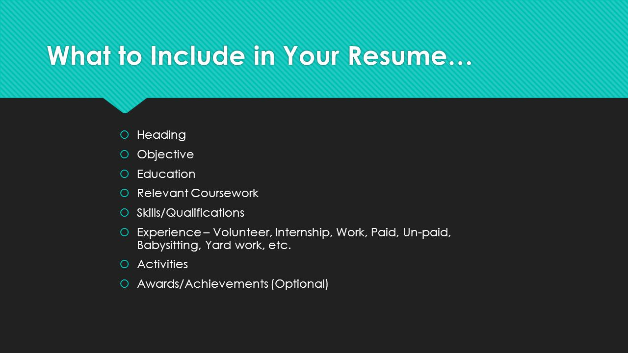 Resume References Notes Tips Word Of Warning In Terms Of