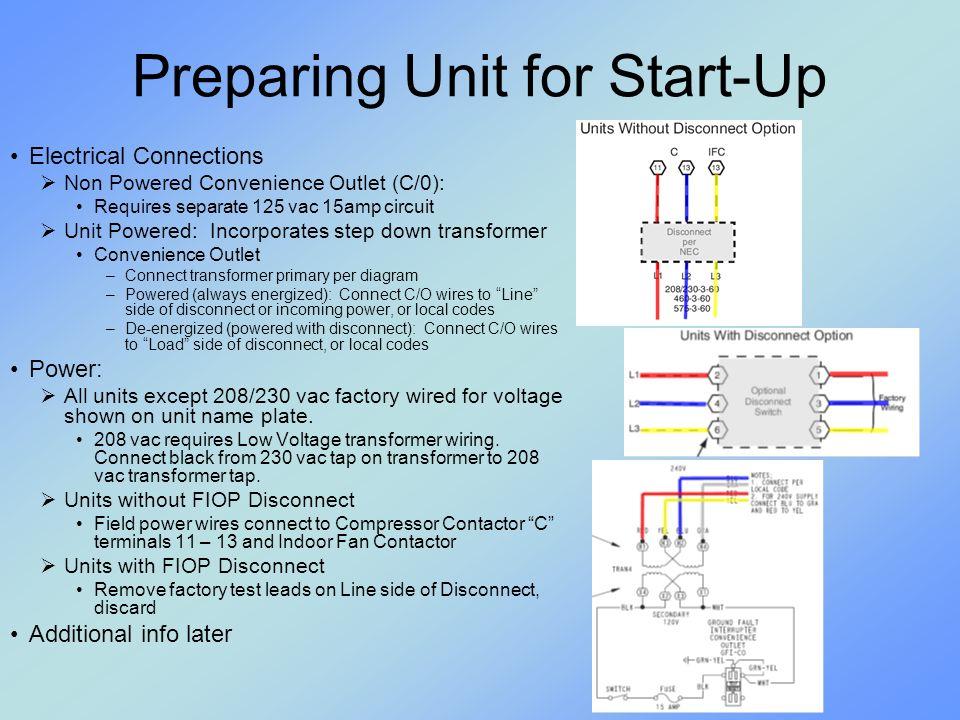 2010 Rooftop Training Webinair. High Efficiency Models / Sizes ...